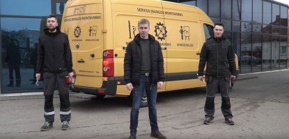 Serviso įrangos aptarnavimo paketai