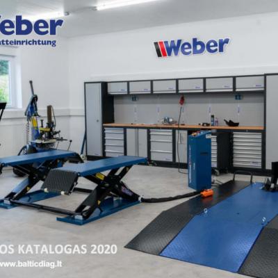 Weber įrangos katalogas 2020