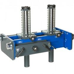 Dvigubas pneumo-hidraulinis duobinis keltuvas AC Hydraulic GD150-2M 15t