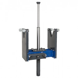 Teleskopinis pneumohidraulinis duobinis keltuvas 15t AC Hydraulic GDT150