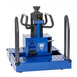 Pneumo-hidraulinis ant duobės grindų statomas keltuvas AC Hydraulic GGD150U 15t