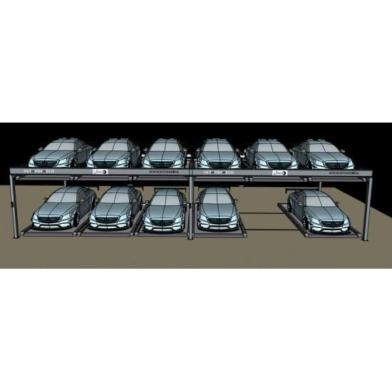 Pilnai automatinė parkavimo sistema int-PSH-auto