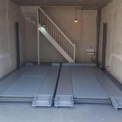 Keturių vietų dvigubas parkingo keltuvas INT-XLT 2+2