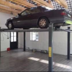 Dvivietis parkingo keltuvas INT-208-XLT