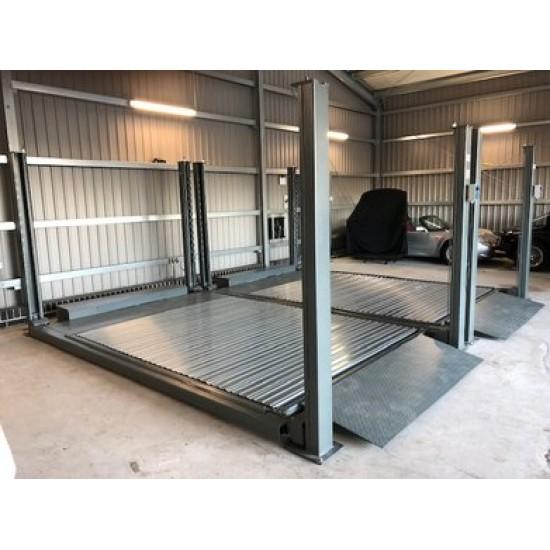 Dvivietis parkingo keltuvas int-208-Platform